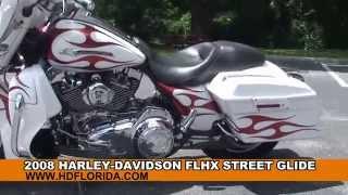 7. Used 2008 Harley Davidson Street Glide Motorcycle - Harley Sound