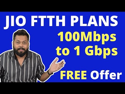 Reliance Jio News | FTTH Broadband Launch | LG G6 100 GB Free Data Offer