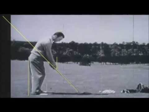 Ben Hogan Golf Swing Analysis …..
