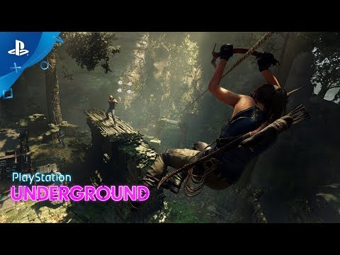 Shadow of the Tomb Raider - PS4 Combat Gameplay   PS Underground