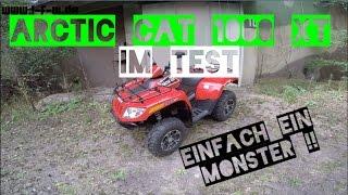 2. Arctic Cat 1000 XT im Test | 70ps Beschleunigung & Top Speed | Brutales ATV | Probefahrt 03