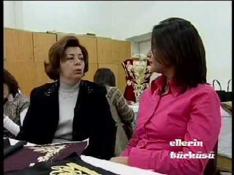 Sim Sırma (Maraş İşi) 1/3 / Gold Embroidery - Ellerin Türküsü Kanal B