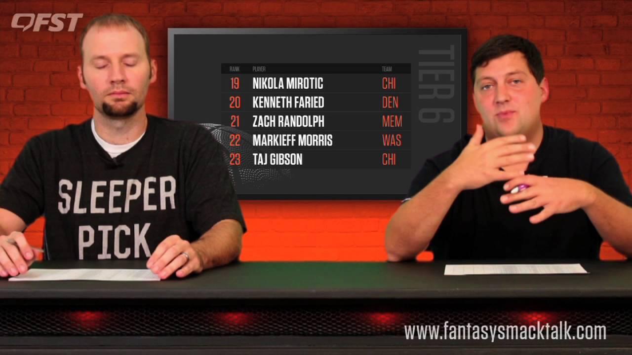 2016-2017 Fantasy Basketball Power Forward (PF) Rankings thumbnail