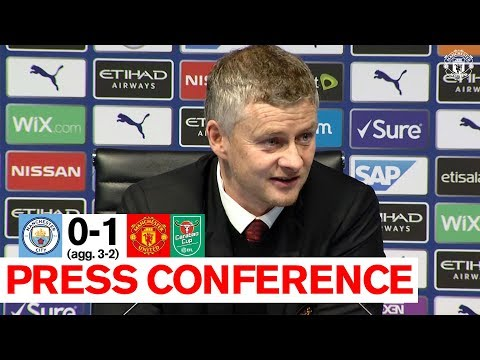 Post Match Press Conference   Man City 0-1 Manchester United (Agg. 3-2)   Carabao Cup