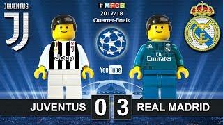 Video Juventus vs Real Madrid 0-3 • Champions League 2018 (03/04) Juve Real Goals Highlights Lego Football MP3, 3GP, MP4, WEBM, AVI, FLV April 2018