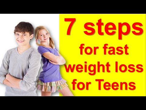 7 Tips how to lose weight fast for teenagers at home ,how to lose weight teenagers