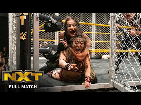 FULL MATCH - Baszler vs. Shirai - NXT Women's Title Steel Cage Match: WWE NXT, June 26, 2019