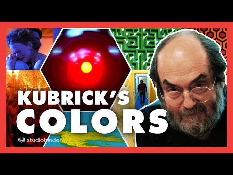 The Colors of Stanley Kubrick — Color Theory from The Shining to 2001: A Space Odyssey and More