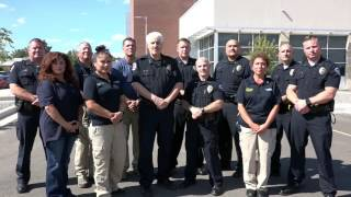 Command Staff Welcomes Students Back to School