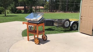 Im going to cook in my solavore solar oven as often as I can because when winter comes, I stay in the shop with the heat turned...