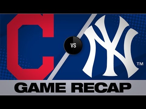 Video: Mercado, Clevinger lead Tribe past Yankees | Indians-Yankees Game Highlights 8/18/19