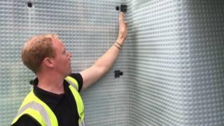 Installing basement tanking