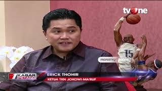 Video Dialog: Serangan Total Jokowi (Bersama Erick Thohir) MP3, 3GP, MP4, WEBM, AVI, FLV Juni 2019