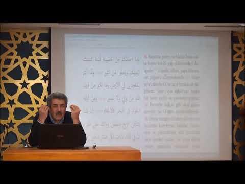 Tuncer Namlı - Şûrâ Suresi (30 - 53) Ayetlerin Tefsiri