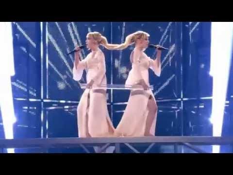 Сестры Толмачевы -- Shine (Евровидение 2014 Россия) (видео)