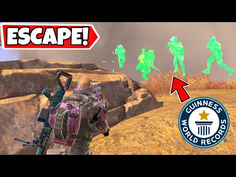 GREATEST SQUAD ESCAPE IN HISTORY! CALL OF DUTY MOBILE BATTLE ROYALE