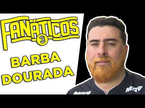 Barba Dourada! Thiago paga promessa e fica de visual novo - #Fanáticos3