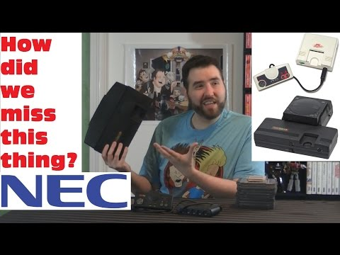 NEC TurboGrafx 16 (PC Engine) - Fourth VideoGame Generation Recap - Adam Koralik