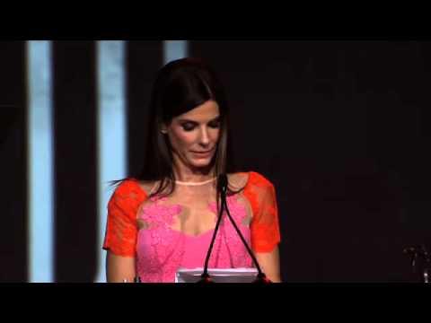 Sandra Bullock's Speech at the Palm Springs Film Festival
