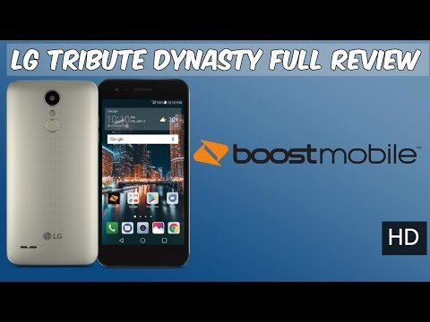 LG Tribute Dynasty Review Boost Mobile (HD)