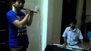 (Hòa Tấu Sáo Trúc- đàn Tranh) Đăng Đàn Cung - GĐPT Thiện Quang