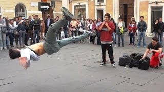 Hip Hop Music Dance - Acrobatic Dancers