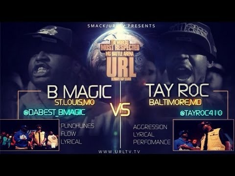 URL Battle Rap Arena has a B-Magic vs Tay Roc Review (FULL SHOW)