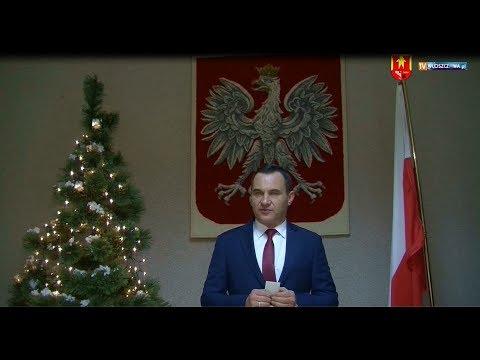 Życzenia Świąteczne i Noworoczne Burmistrza Gminy Włoszczowa Grzegorza Dziubka
