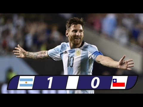 Argentina 1 - 0 Chile - CONMEBOL Qualification Worldcup 2018 - 24/3/2017 - All Goals