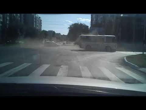 ДТП в Оренбурге на улице Просторная