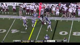 Cyrus Gray vs Kansas State 2011