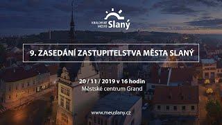 9. Zasedání zastupitelstva města Slaný -...