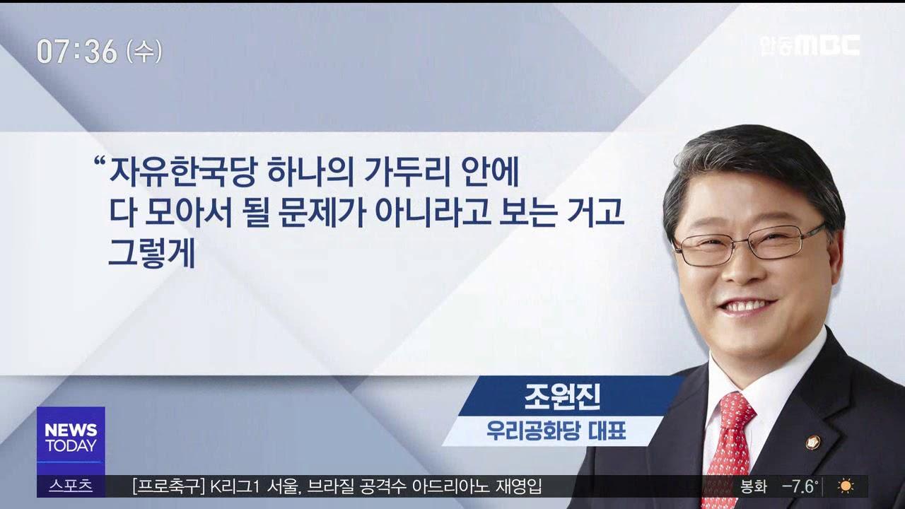 R]신생 정당 창당, 태극기부대의 선택은?
