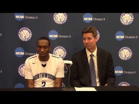 Northwood University Men's Basketball (1/15/15) NU 74, Hillsdale 69 - Press Conference