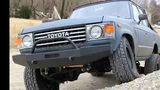 1987 Toyota fj60 land cruiser Ragtop Convertible v8 conversion