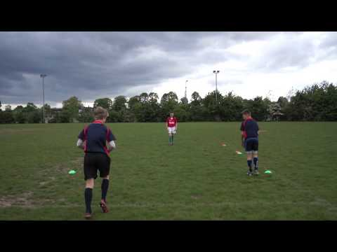 Mini Rugby Video: How to switch pass