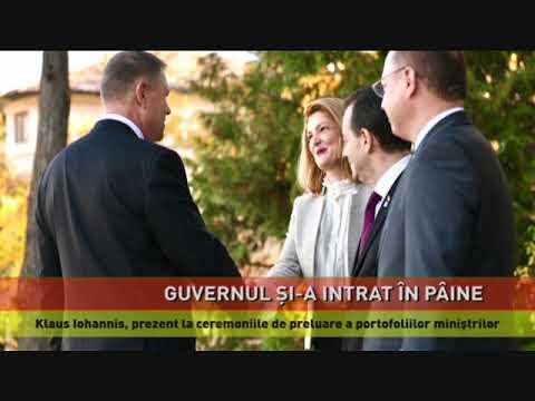 Cei 16 miniștri ai Cabinetului Orban și-au preluat mandatele