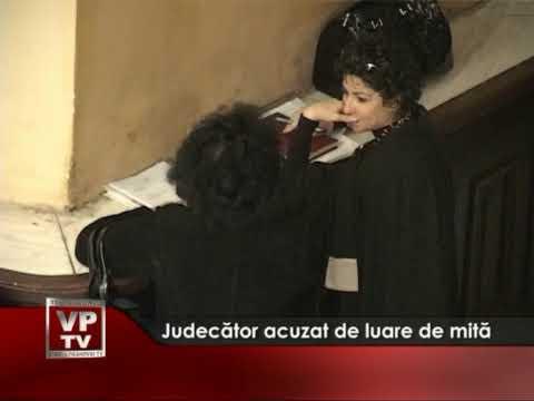 Judecător acuzat de luare de mită