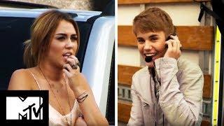 Video Justin Bieber Punks Miley Cyrus   MTV MP3, 3GP, MP4, WEBM, AVI, FLV Agustus 2018
