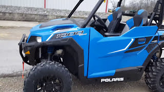 5. Polaris General 1000 Walk Around 0-60 Top Speed