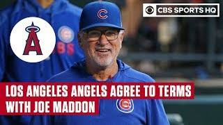 Joe Maddon AGREES to deal with Los Angeles Angels, becomes new Manager | CBS Sports HQ