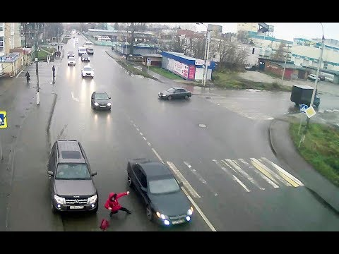 Авария с пешеходом в Серпухове