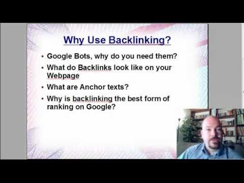 How to Use Backlinks - Video