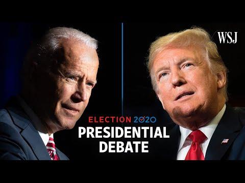 Full Presidential Debate: President Trump and Joe Biden | WSJ