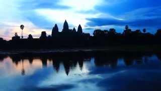 Ver el amanecer en Angkor Wat