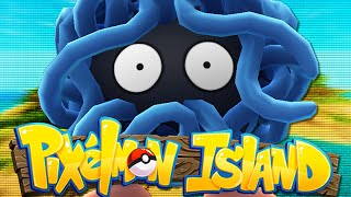Minecraft: PIXELMON ISLAND SMP - Episode 16: POKEMON BATTLE WITH WOOFLESS! (Pokemon Mod)
