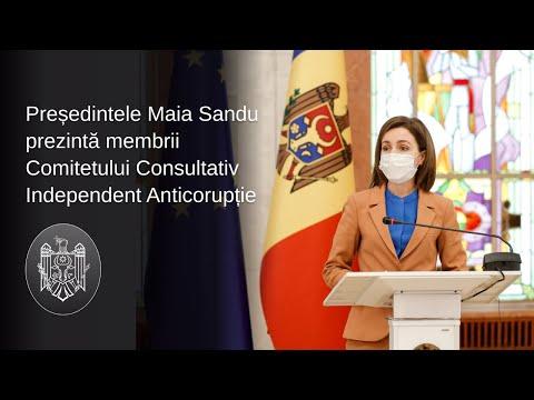 Comitetul Consultativ Independent Anticorupție și-a început astăzi activitatea la Chișinău