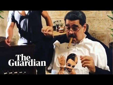 Venezuelan president feasts at 'Salt Bae' restaurant while country goes hungry