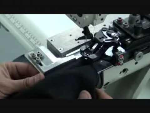 1200/1 Gizli Dikiş Köprü Hazırlama Makinesi Ütü Sistemli