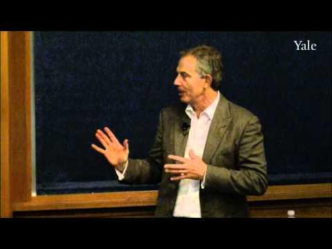 Tony Blair über die Entwicklung des religiösen Denkens